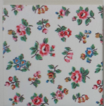 Ceramic Wall Tiles Made With Cath Kidston Highgate Ditsy Rose